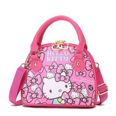 BAGGIE Hello Kitty Girls Kids Children Sling Handbag Bag
