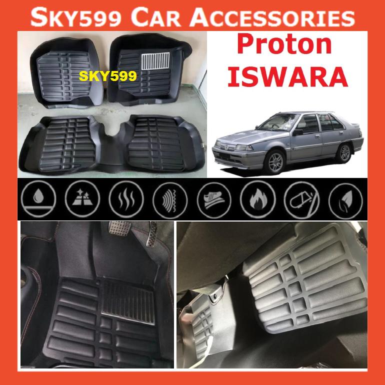 Proton Saga2 Iswara 5D Car Floor Mat/Carpet
