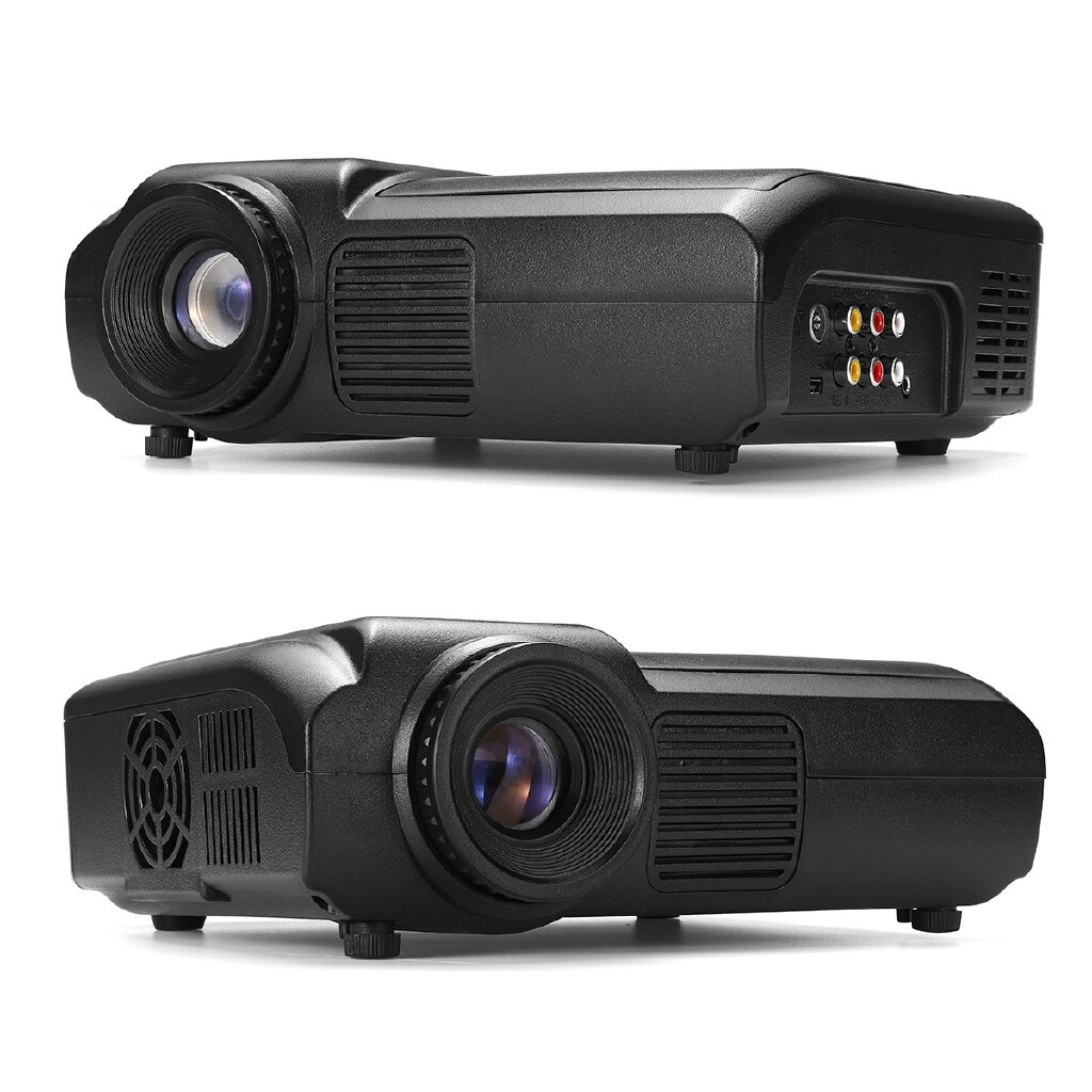 Home Theater Systems - 1080P HD LED Projector Home CineTheater Multimedia PC USB TV DVD Game Player - UK / AU