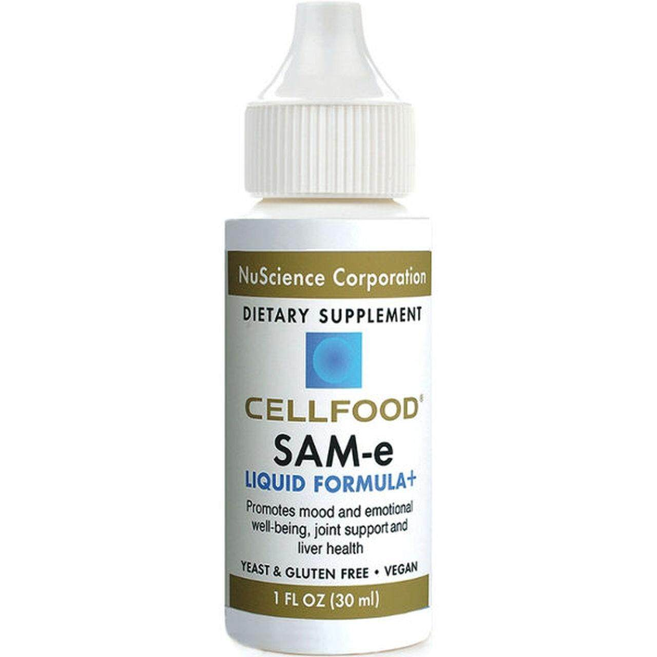 Cellfood Nuscience SAM-e 1 bottle Complete with box and catalog.0122083222