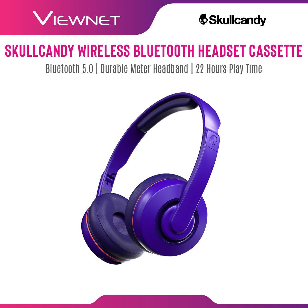 Skullcandy Cassette Wireless Bluetooth On-Ear Headphones