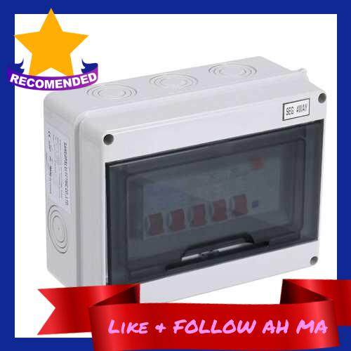Best Selling Safe And High-Efficiency 4 Way Garage Caravan Consumer Unit 63A 30mA RCD+4MCB (6)