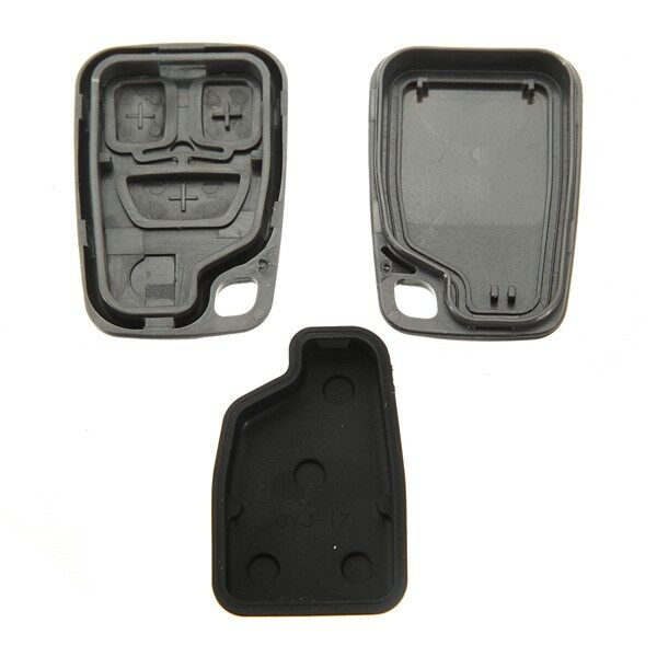Car Accessories - Remote Key Fob Replace Case Shell Cover 3 Button for VOLVO S70 V70 C70 S40 V40 - Automotive