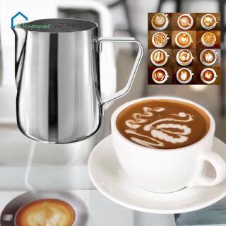 Dragonpad, Bình Tạo Bọt Sữa Bằng Thép Không Gỉ 350ML Cốc Cốc Bình Hấp Espresso Bình Rót Cà Phê Latte Máy Pha Espresso Máy Tạo Bọt Cà Phê Và Latte thumbnail
