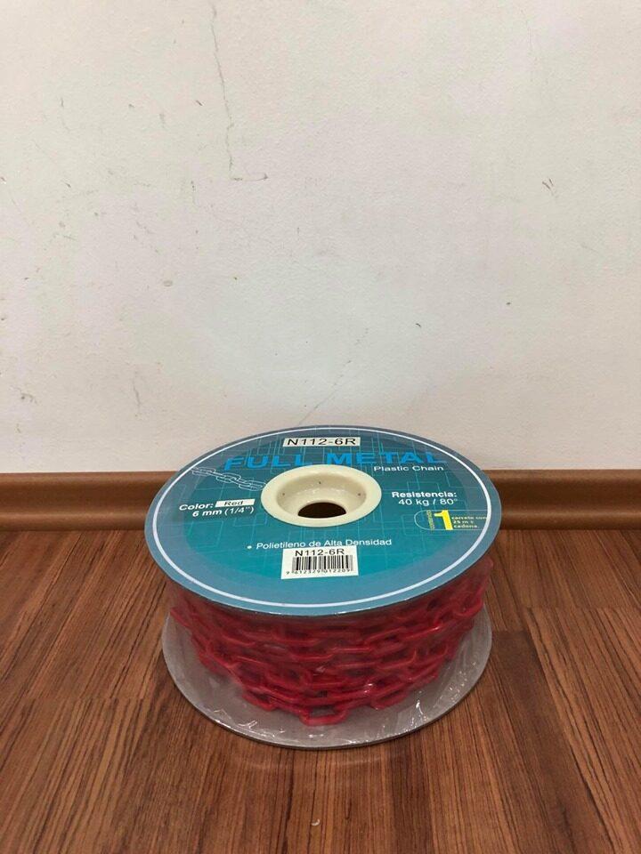 "Marksman PVC Chain / Plastic Chain / Rantai Plastik  6mmx25m (1/4"")"