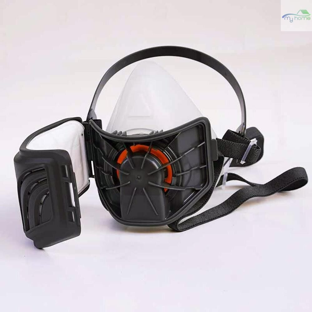 Protective Clothing & Equipment - STRONG ST-1020T Anti Dust PM2.5 Mask Respirator Half Facepiece Mask Prevent Particulates Industrial - GREY