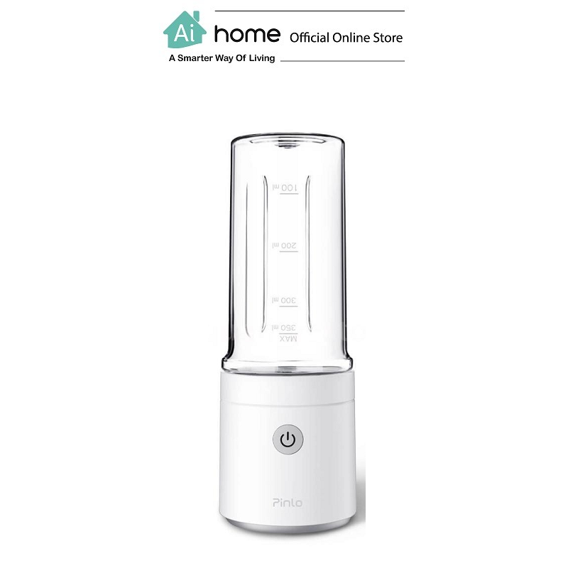 PINLO Smart Portable Handy Juice Machine 350ml (White) with 1 Year Malaysia Warranty [ Ai Home ]