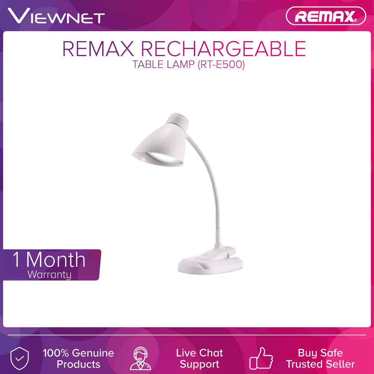 Remax (RT-E500) Rechageable Table Lamp
