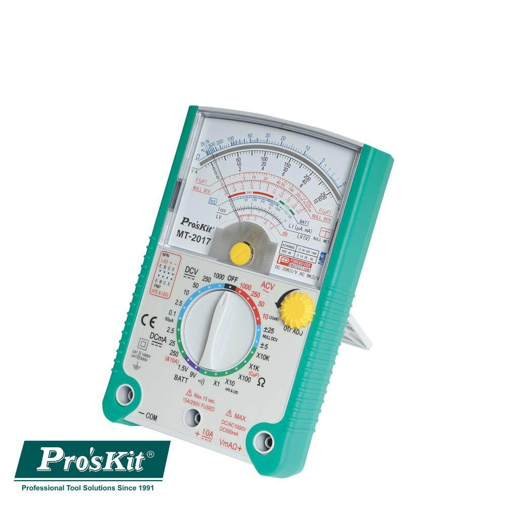Pro'sKit MT-2017 Protective Function Analog Multimeter*CLEARANCE