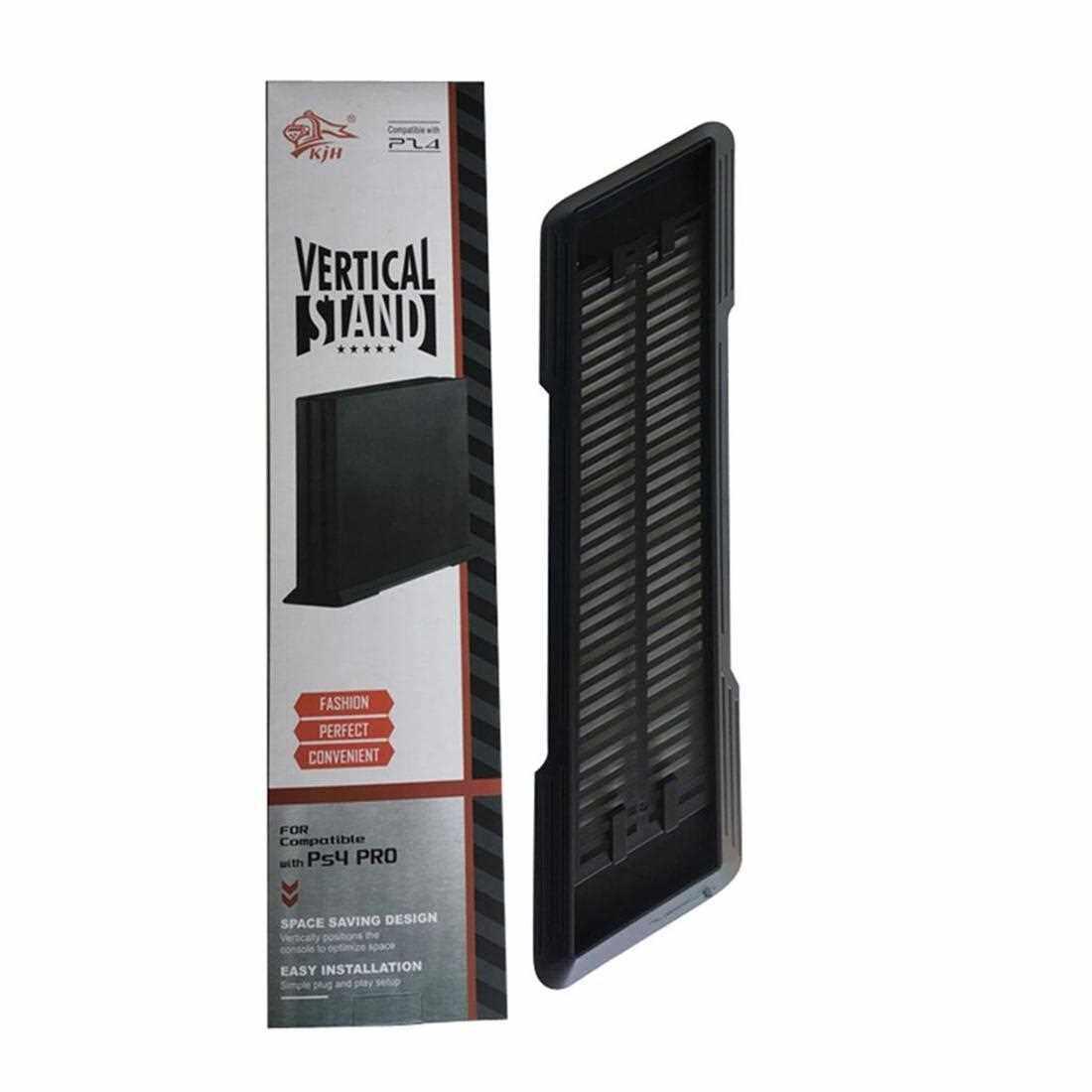 Simple Design Console Vertical Stand Mount Holder Dock Mount Cradle For PS4 (Black)