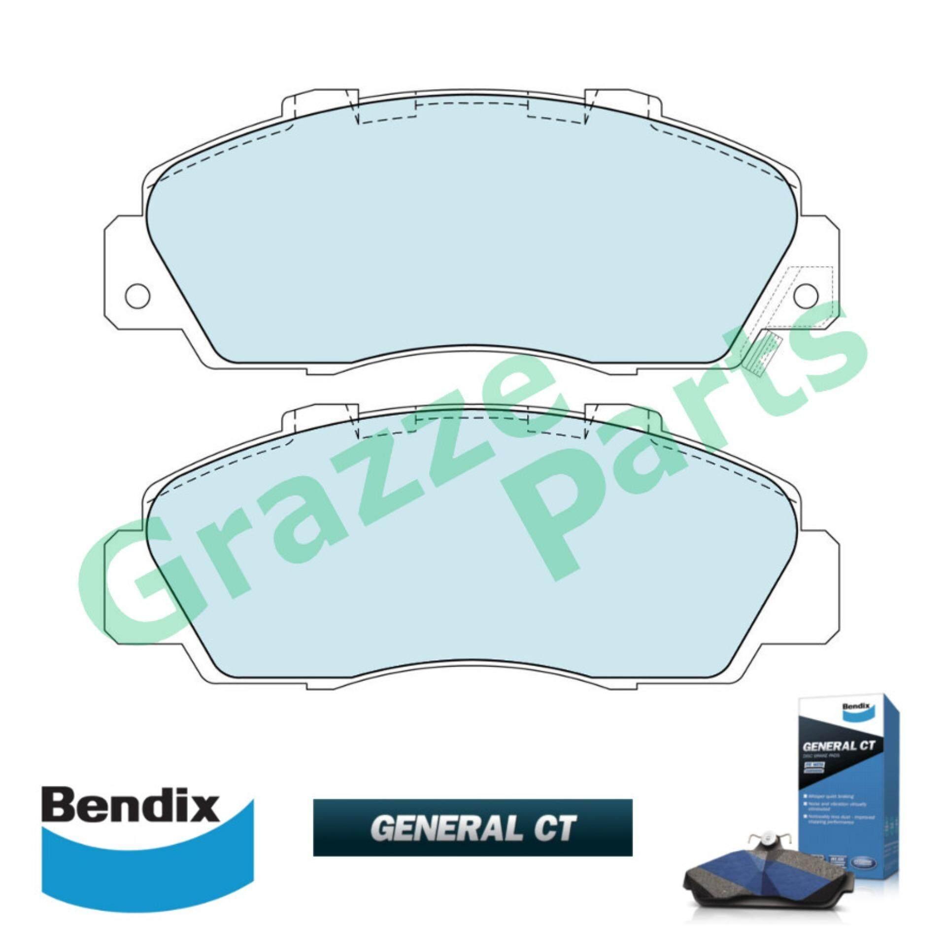 Bendix General CT Disc Brake Pad Front for DB1206 - Honda Accord SV4 NSX Prelude SSO Odyssey Legend Integra