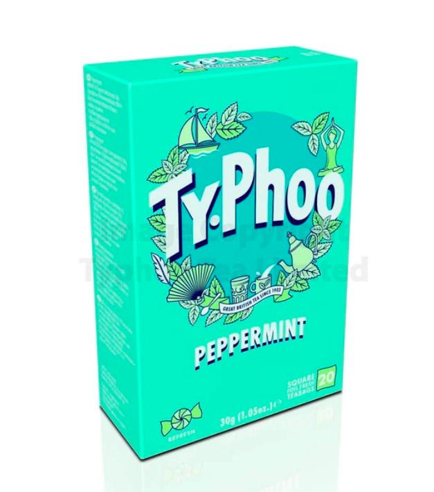 Typhoo Peppermint Tea (20 bags) Coffee or Tea