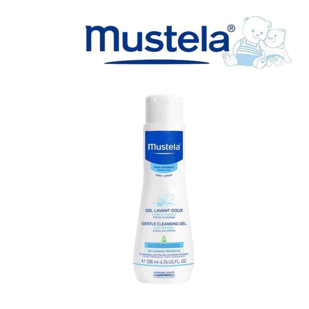 Mustela Gentle Cleansing Gel 200ml  *CLEARANCE STOCK PROMO EXP:032021