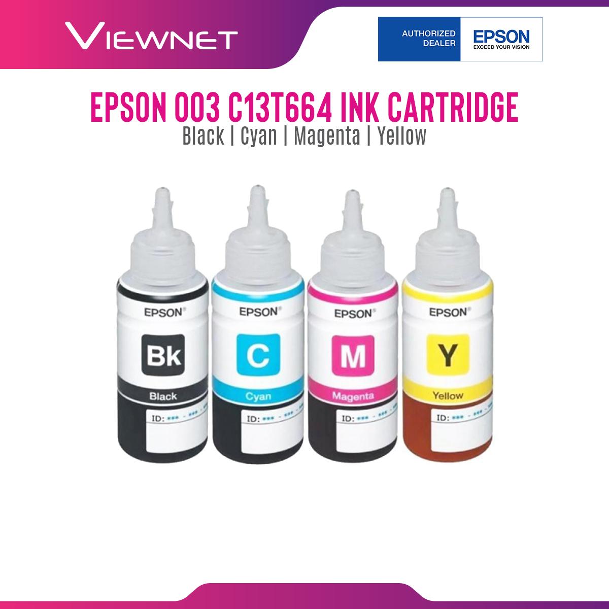 INK EPSON CARTRIDGE C13T664 CISS (BLK/CYAN/MAGENTA/YELLOW)