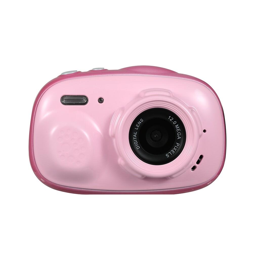 Sports & Action Cameras - Oukitel Q1 IPX68 3M Waterproof 5MP 6X Zoom 2 Inch Screen MINI Children Kids Digital Camera - PINK / BLUE / YELLOW