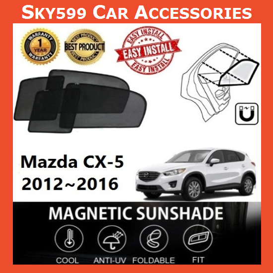 Mazda CX5 CX-5 2012-2016 Magnetic Sunshade ?6pcs?