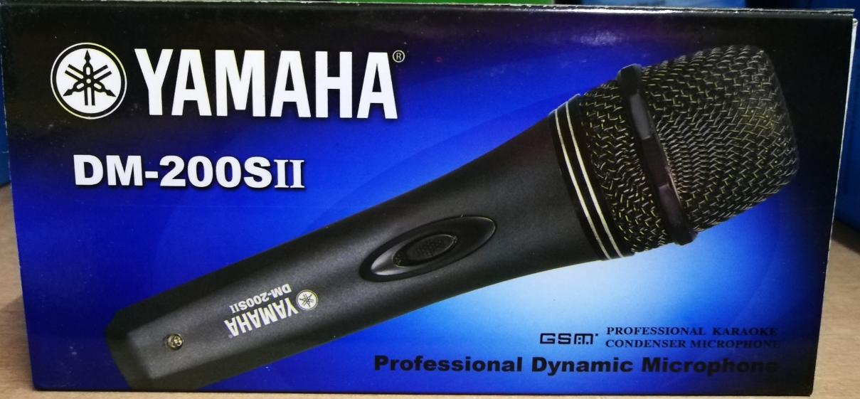 Yamaha DM-200s Professional Dynamic Microphone For Karaoke/Vocal