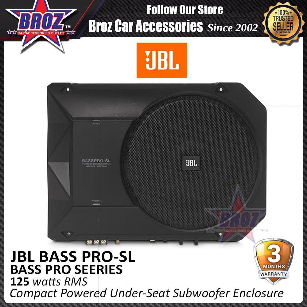 Broz JBL BassPro SL 8  Compact Powered Under-Seat Subwoofer Enclosure