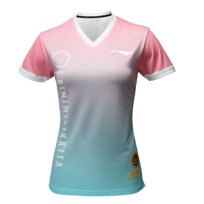 Li-Ning Women's STL Premium Jersey 2020 - Pink ATSQ440-1
