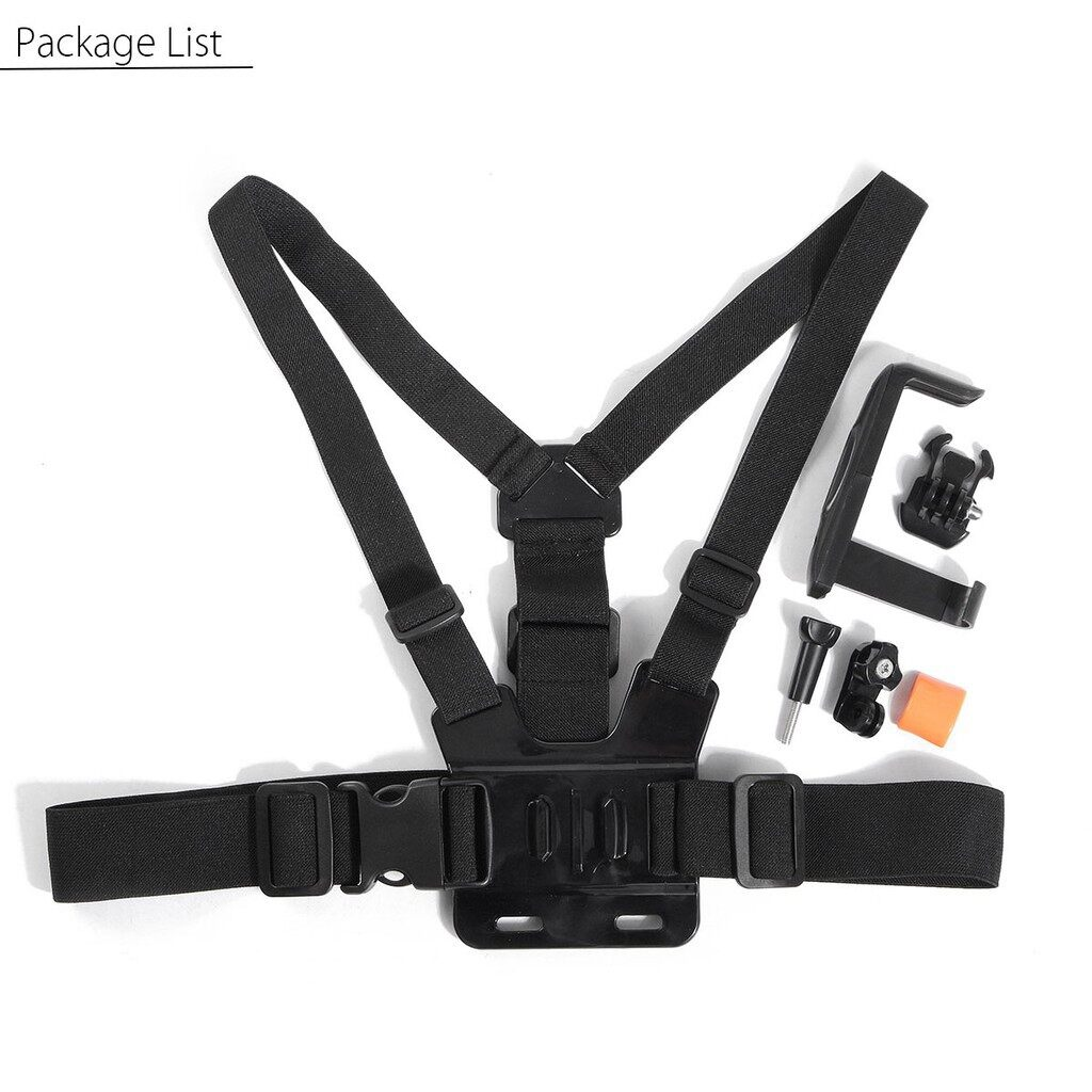 Cool Gadgets - Chest Harness Strap Mount Holder + Adjustable Mobile Phone Clip For Smart iPh - Mobile & Accessories