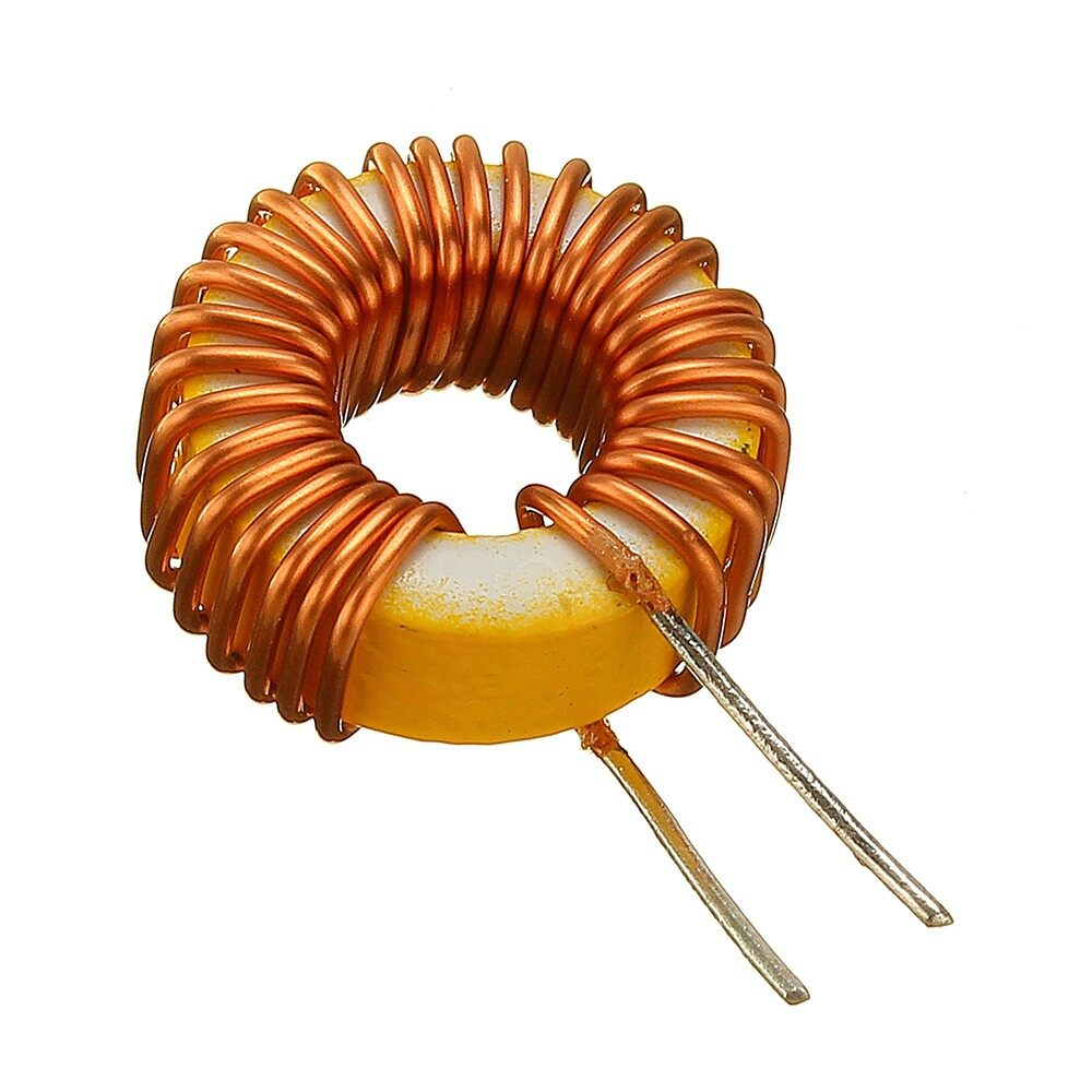 Gadgets - 1 PIECE(s) 33UH 3A Toroidal Wound Inductor Nude Inductance Magnetic Inductance - Cool