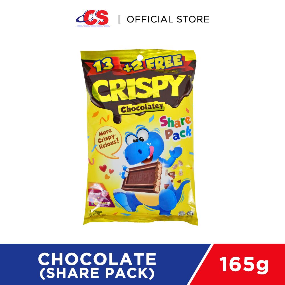 CRISPY Chocolatey (Share Pack) 15x11g
