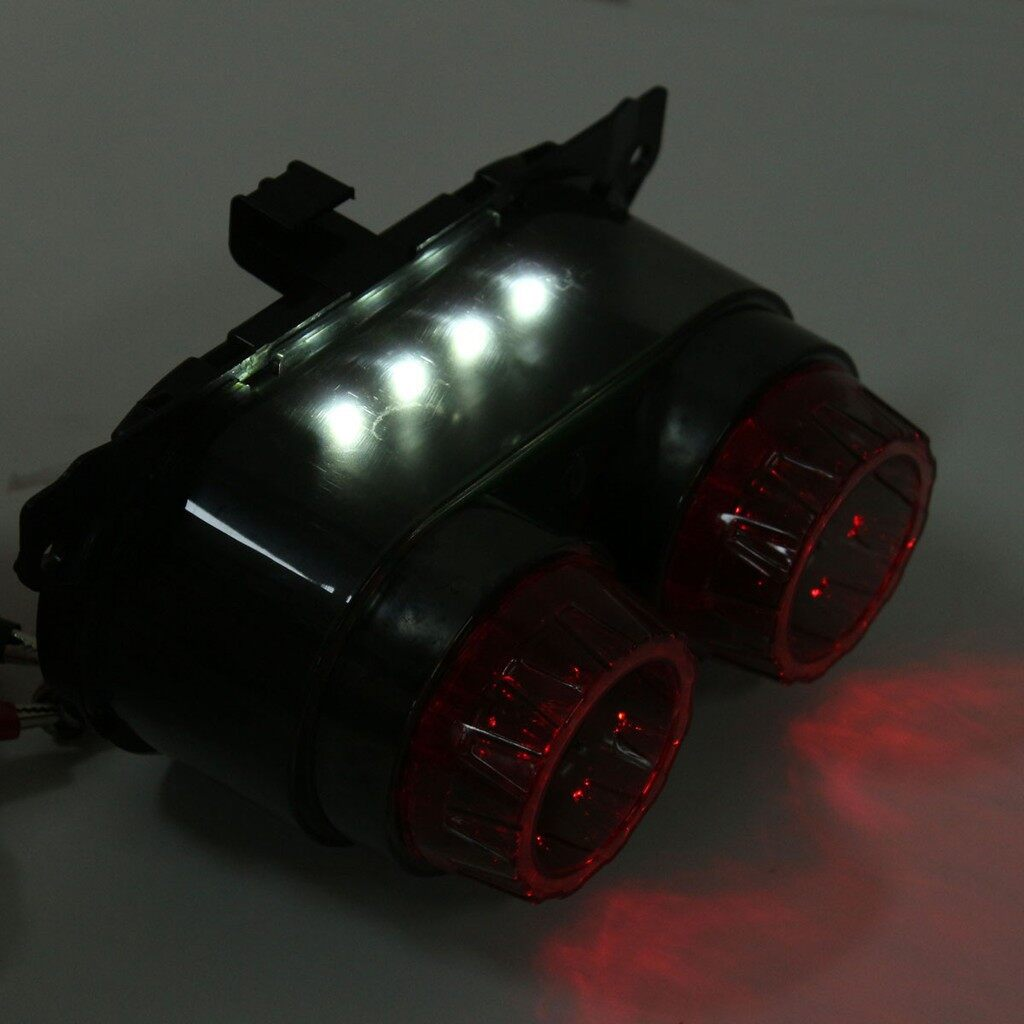 Moto Spare Parts - 40 LEDs Rear License Brake Tail Light Turn Signal Lamps for Yamaha BWS/ZU - Motorcycles, & Accessories