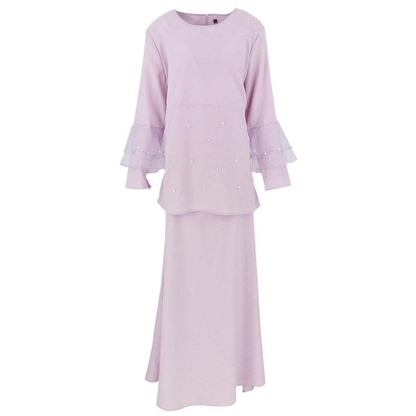 Price List QFM Sarah Baju Kurung Moden Peplum Manik 2020 Raya Muslimah Wear BEST SELLER Baju Raya Terkini