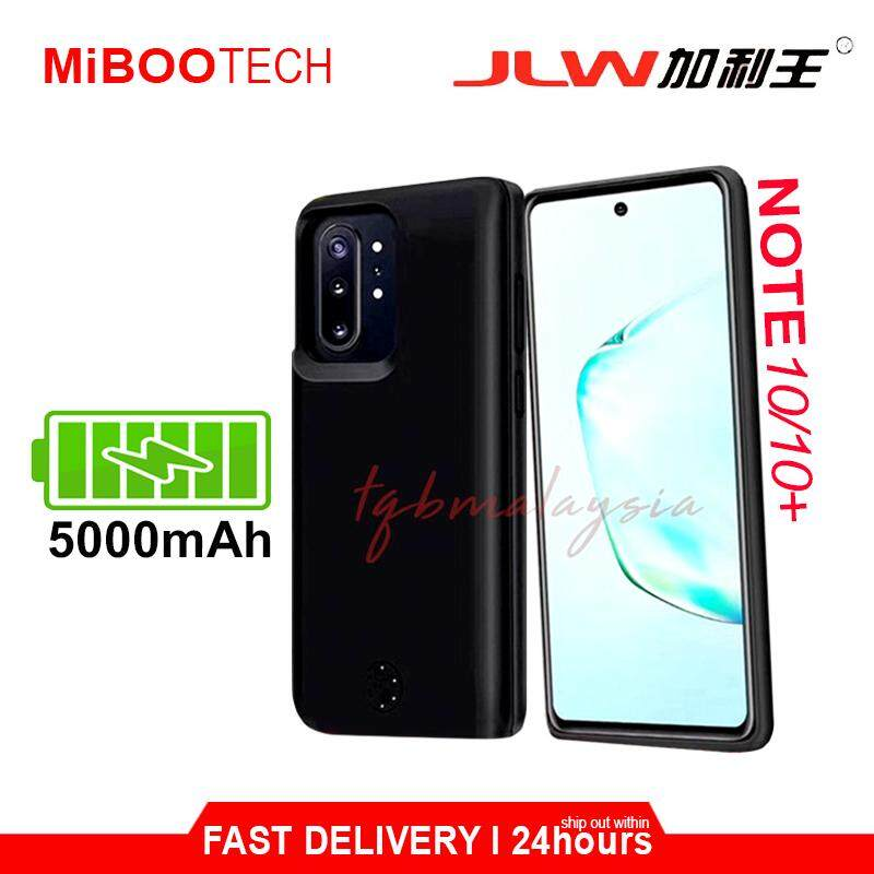 [Miboo] JLW Samsung Note 10 / Note 10 + PowerCase Protactive Case 6000mAh Phone Cover Travel Light Portable Battery Case - Note 10