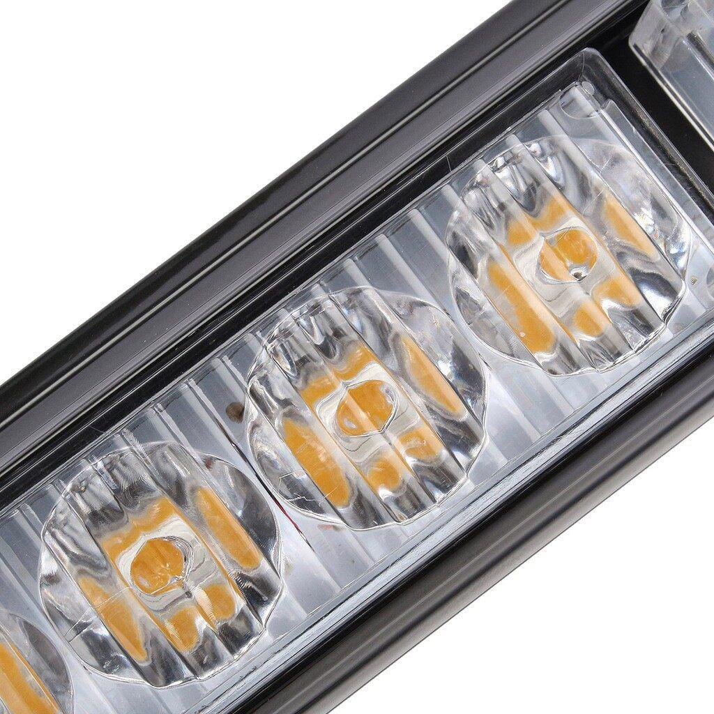 Car Lights - 32 LED Yellow Amber 35.5'' Emergency Traffic Advisor Flash Strobe Light - Replacement Parts