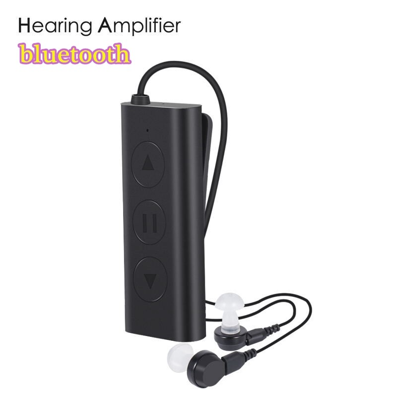 On-Ear Headphones - BLUETOOTH Amplifier Behind Ear Head SET Headphones USB Charge Digital Hearing -3c - Audio