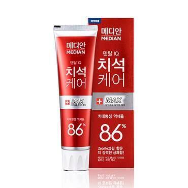 Median Advanced Tarter 86% Toothpaste - White/Red/Blue 120g