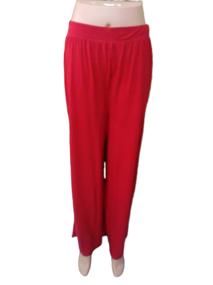 Ready Stock - Korean Style Women Palazzo Collection- M-1003 Red