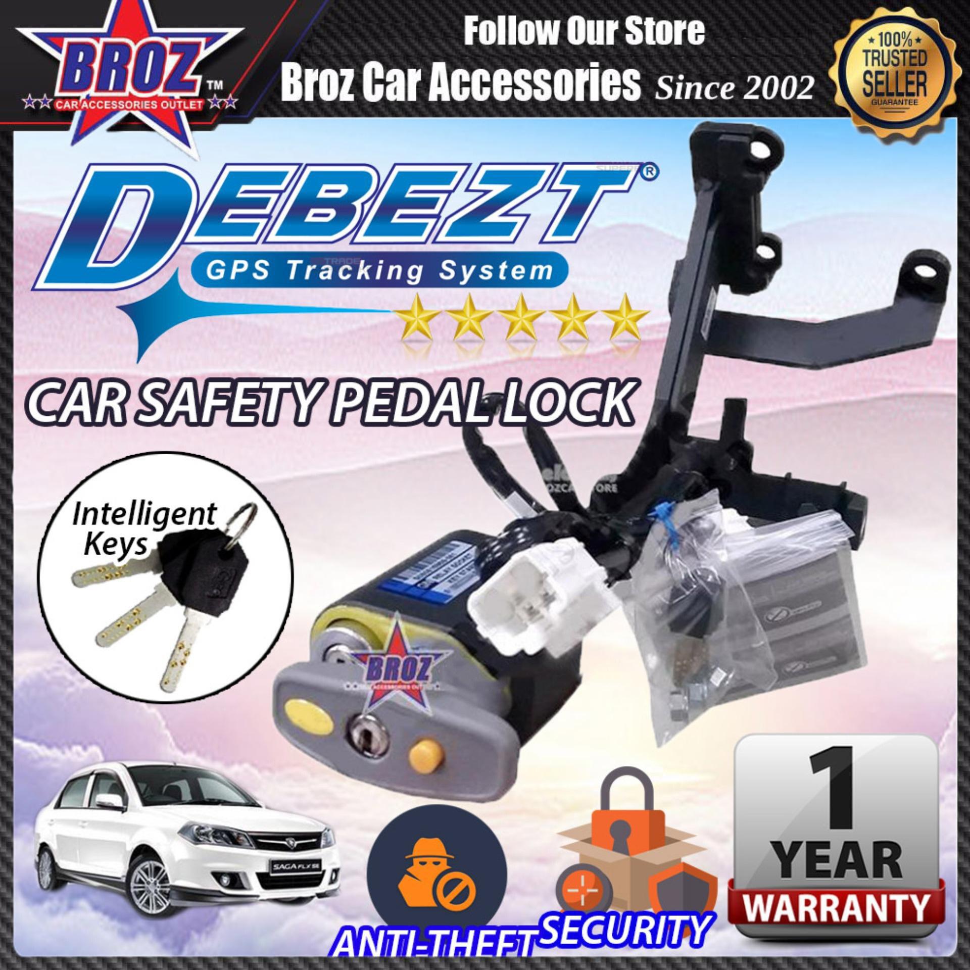 Saga BLM 2008-2015 Auto/Manual Key Start Anti Theft Double Pedal Lock