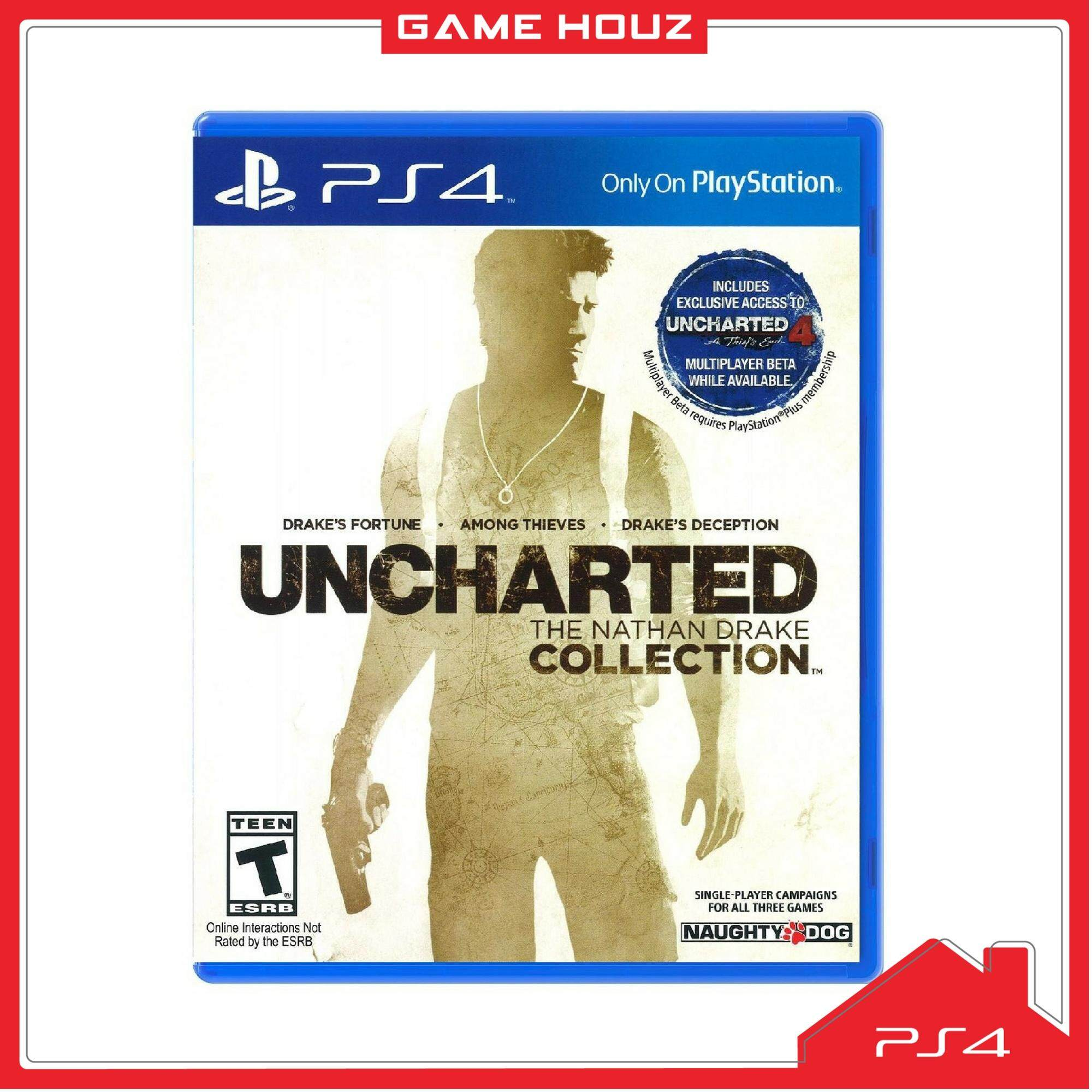 (PS4) Uncharted: The Nathan Drake Collection (R3/ENG/CHN) - NEW