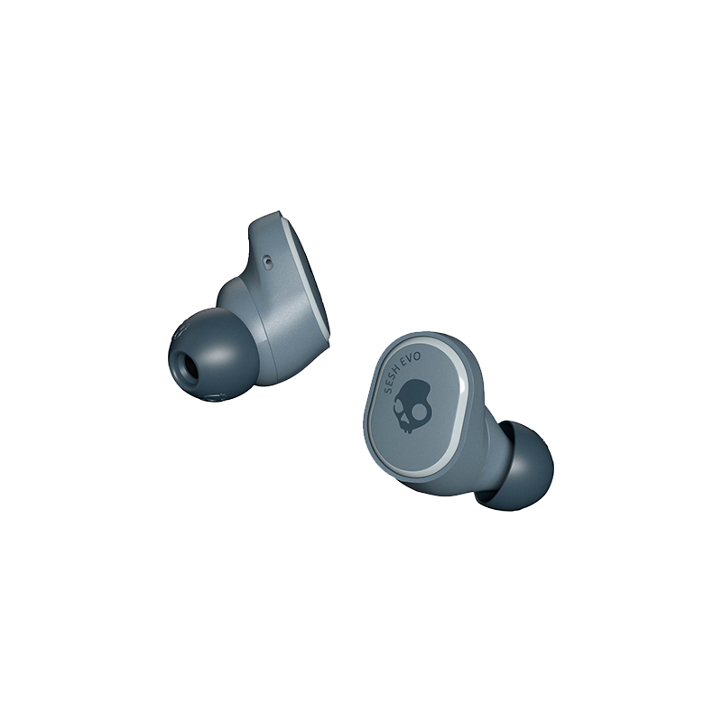 Skullcandy True Wireless Earbuds Sesh Evo with Bluetooth 5.0, IP55 rating for sweat, water and dust resistance, 24 Hours Play Time
