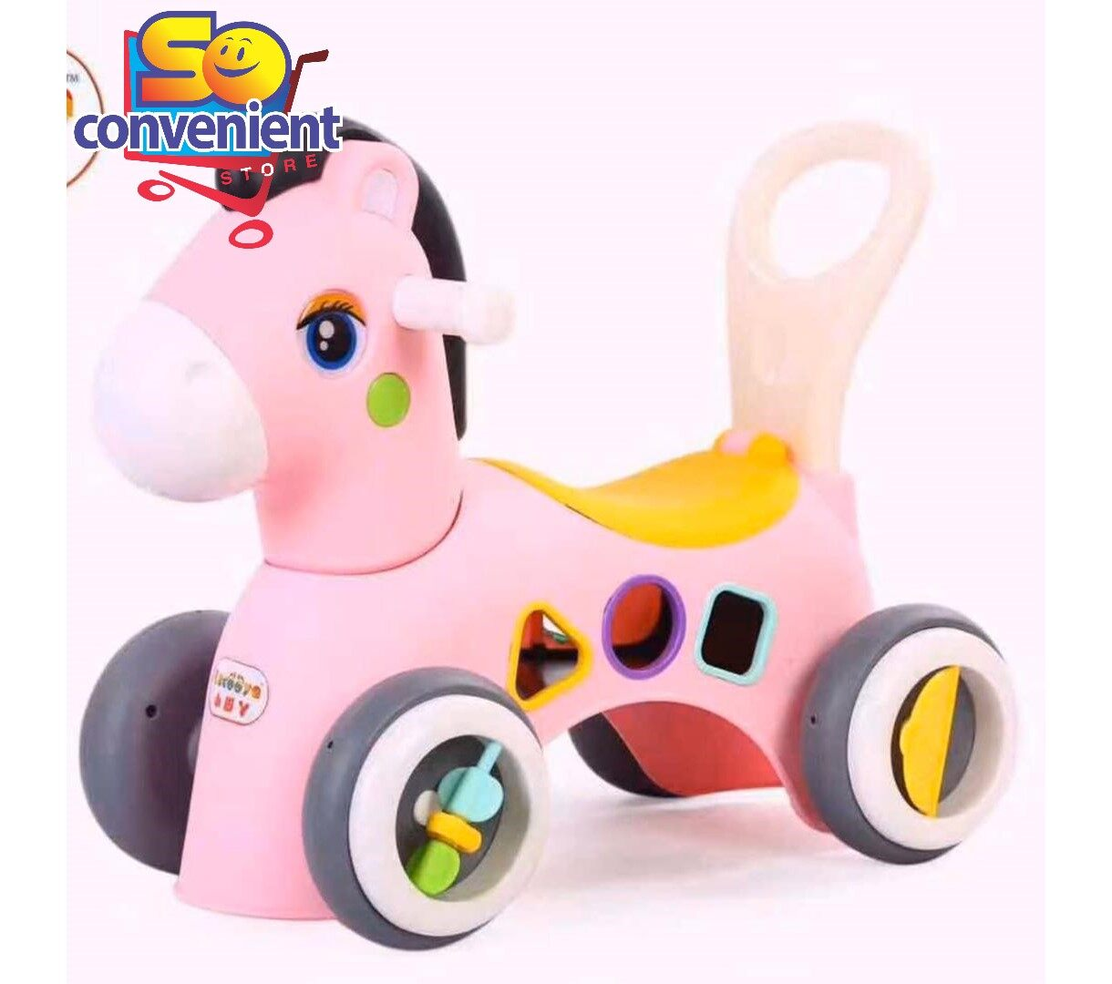 XJY-688 Ride on Horse Car with Multi Features