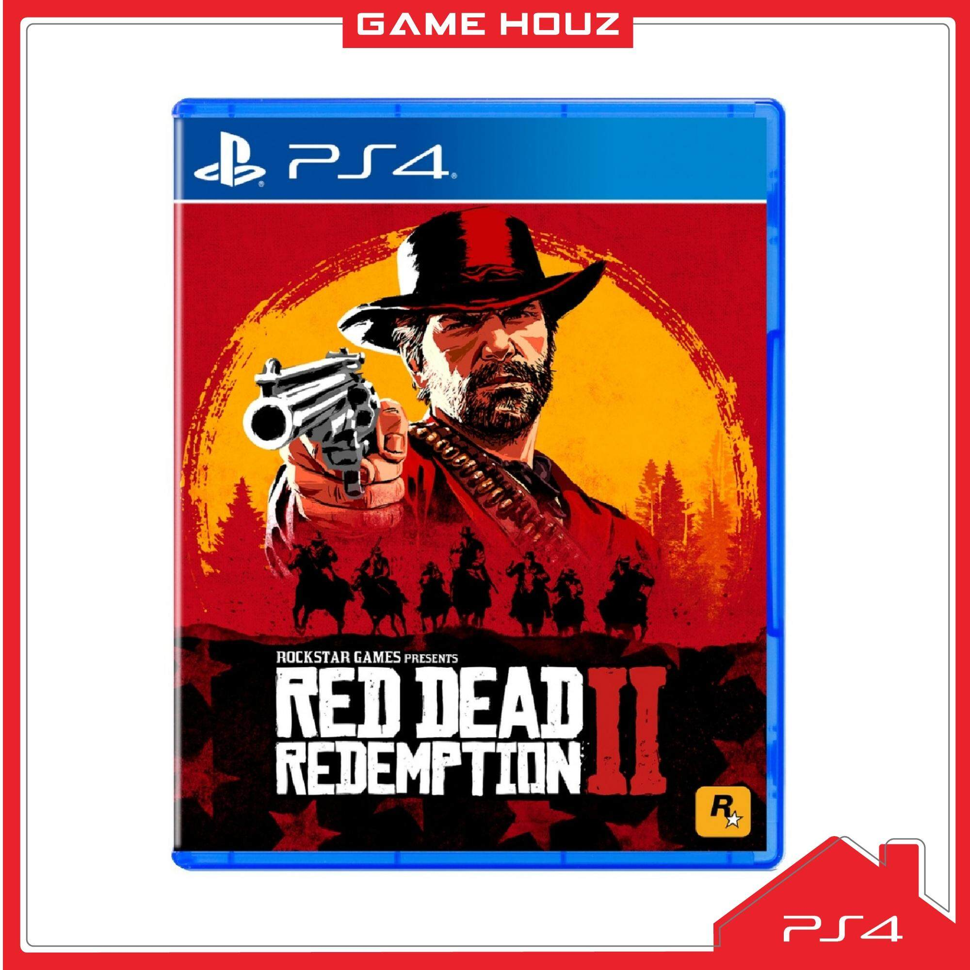 (PS4) Red Dead Redemption 2 (R3/ENG/CHN)