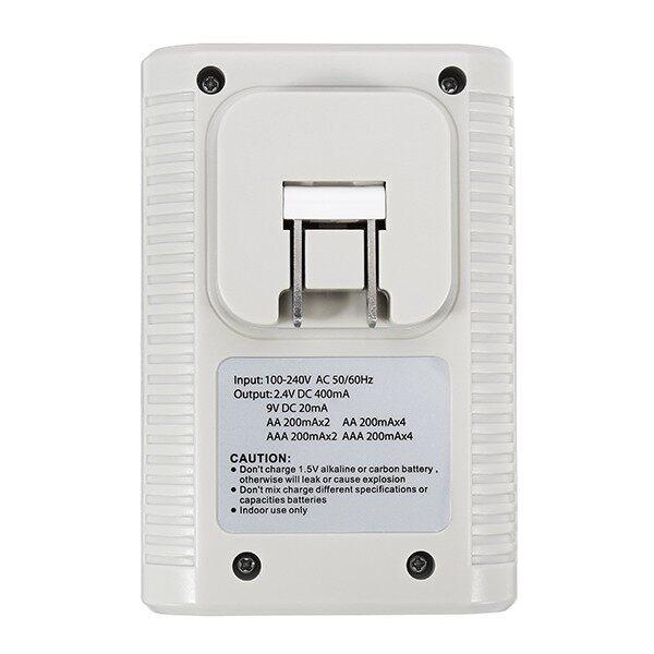 Chargers - Palo C802 4 Slots 1.2V AA AAA 9V 6F22 Li-ion Nimh Nicd Battery Charger - UK / AU