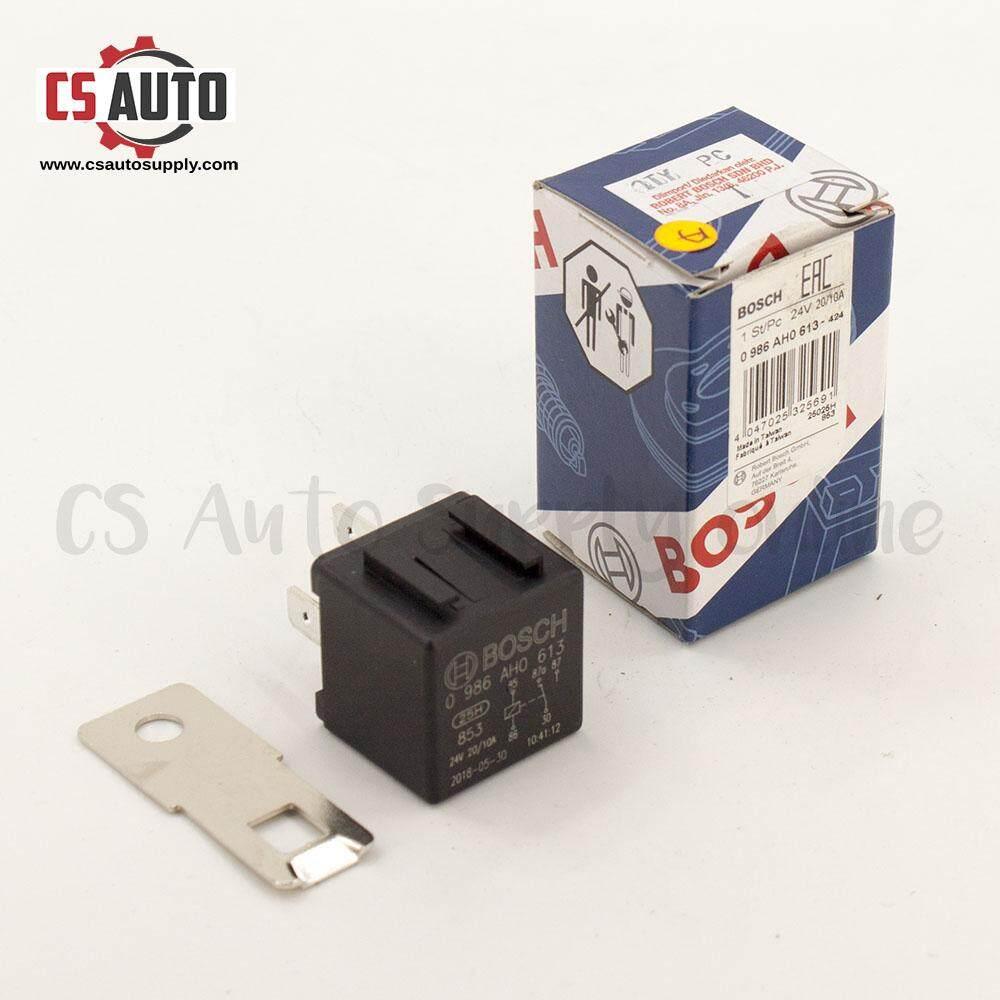 [CS auto] Bosch 'A' Relay 24V 5 Pin 20A Original Universal 100% Genuine for engine off, power window modification