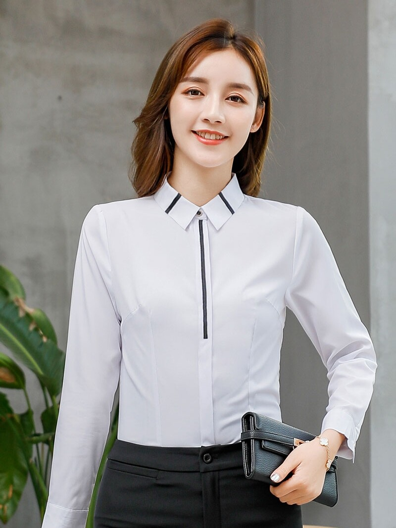 JYS Fashion Korean Style Women Long Sleeve Blouse or Top Collection 535- 3344