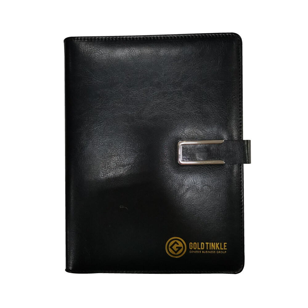 GT Notebook Classic PU Leather A5 Magnetic Buckle Book