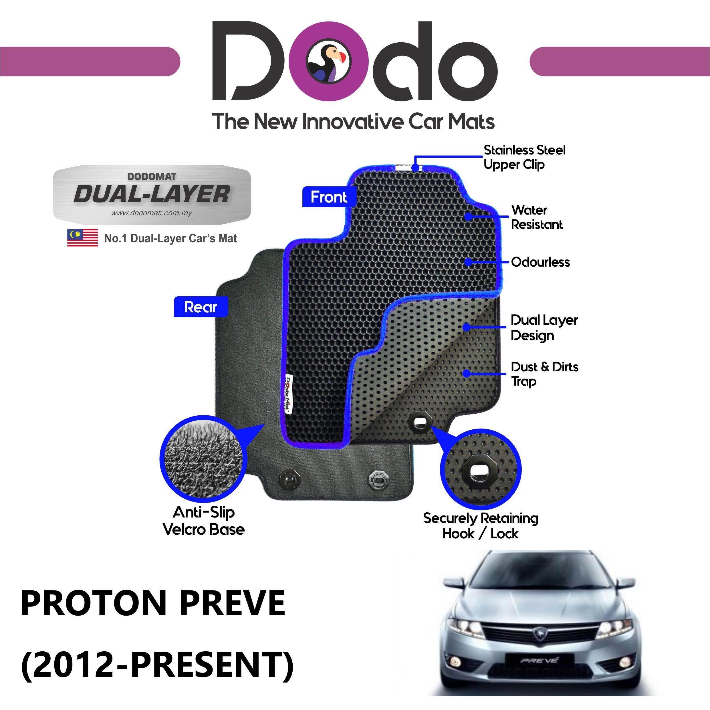 DODOMAT Car Mat PROTON PREVE (2012-PRESENT) Model BASIC