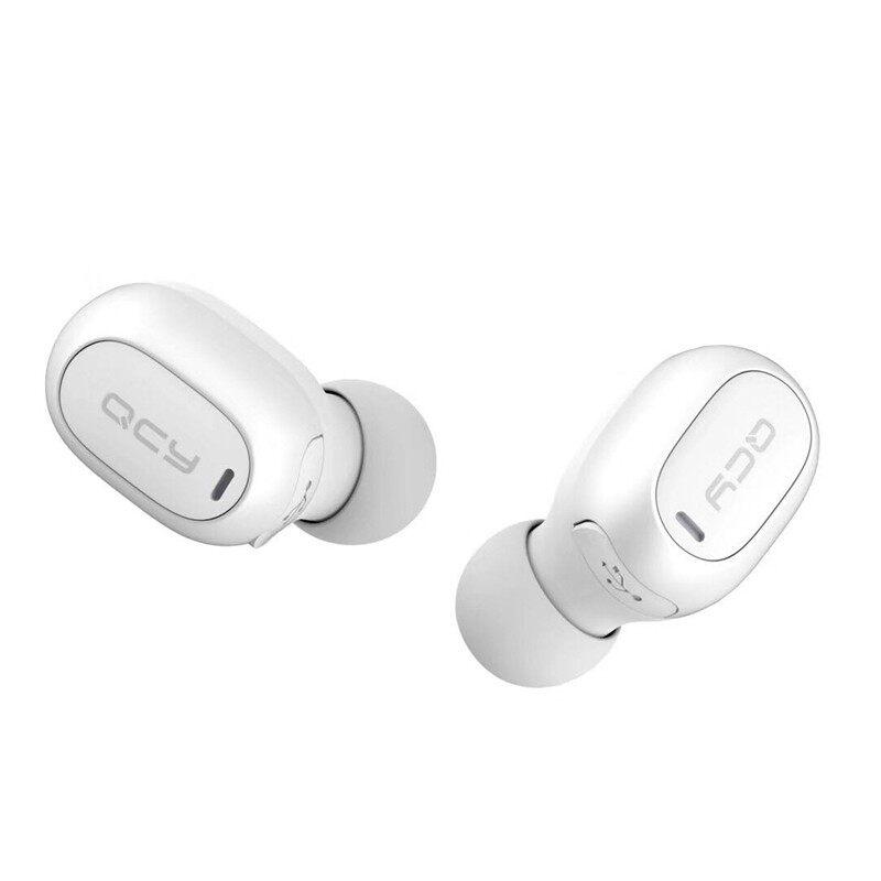 On-Ear Headphones - QCY MINI 2 Single BLUETOOTH Earphone Handsfree Headphone with Mic - WHITE / BLACK