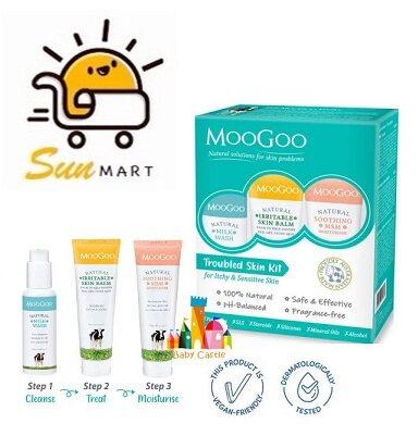 Moogoo Troubled Skin Kit