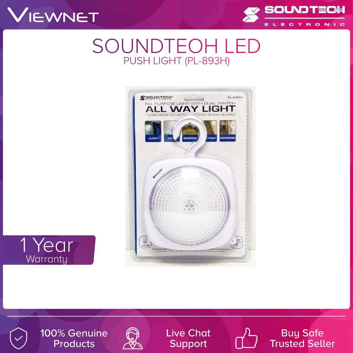 Soundteoh (PL-893H) Led Push Light