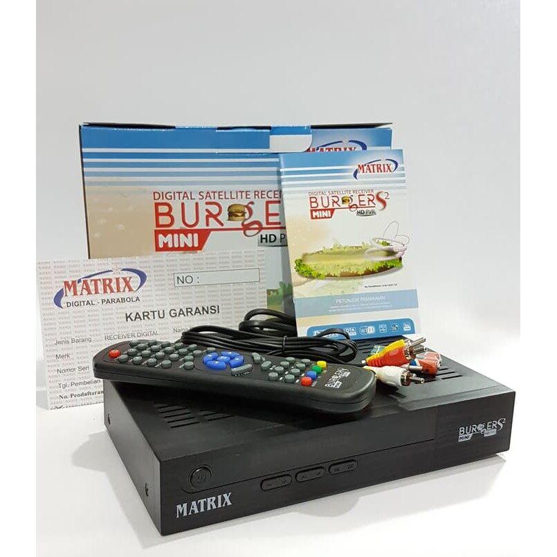Receiver Matrix Burger S2 Support Bisskey CCCAM