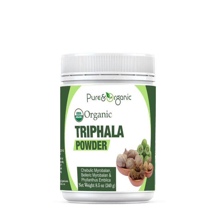 Pure & Organic Triphala Powder 240g