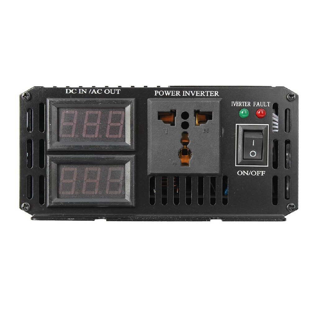 Motorcycles, Parts & Accessories - 4000W Car Vehicle Power Inverter 12V DC to 220V AC Pure Sine Wave - Automotive