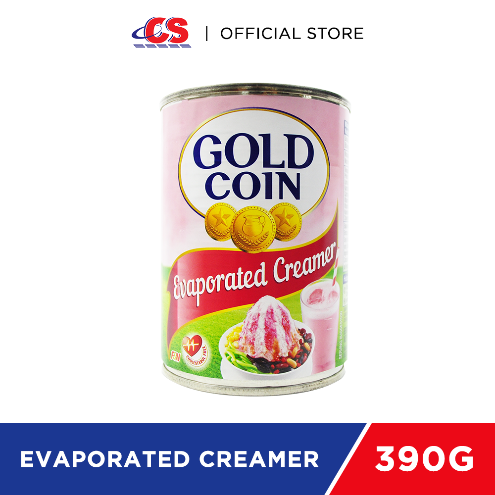 GOLD COIN Evaporated Creamer 390g